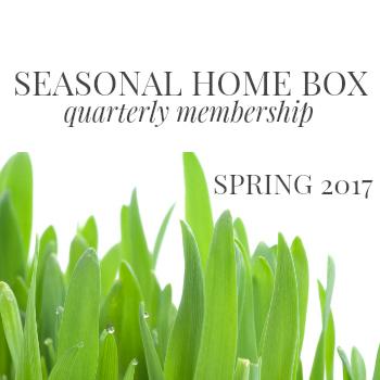 home decor, seasonal home decor box, krayl funch home decor