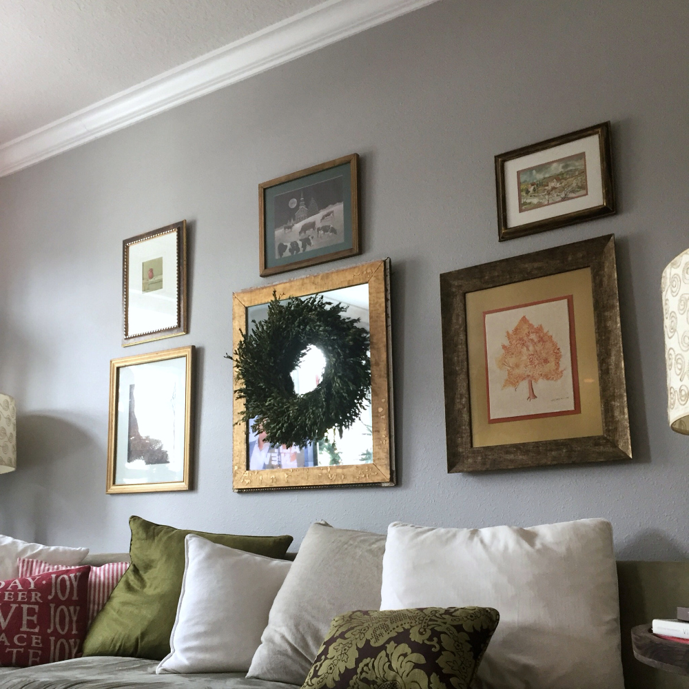 interior styling ideas from krayl funch - gallery wall in living room