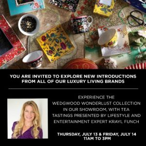 Join Me In Atlanta :: Wedgwood Wonderlust Event Summer 2017