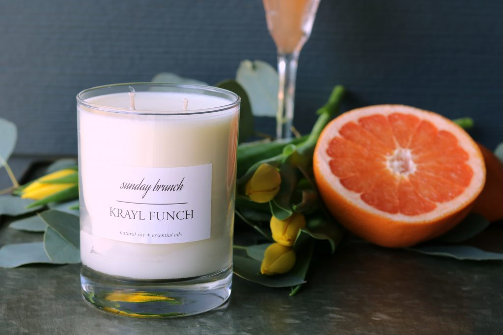 Krayl Funch Candle Line - Sunday Brunch