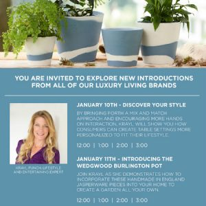 Discover Your Style With Waterford Wedgwood + ME! at the Atlanta January 2018 Market