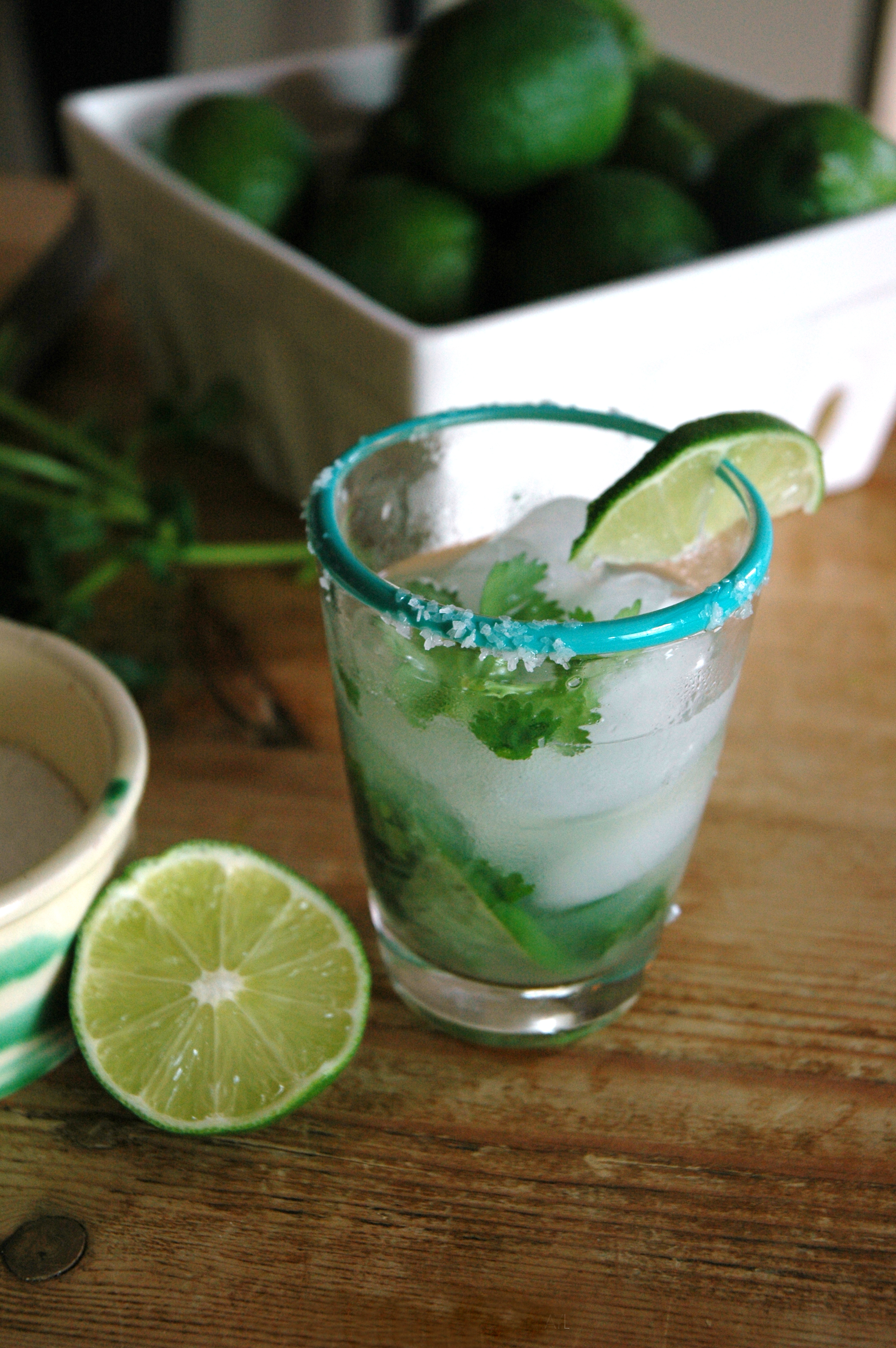 Cilantro tequila cocktail recipe - Cilantro Margarita