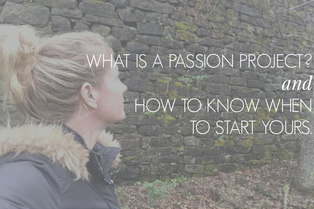 what is a passion project? Join the passion project pathway program today to find your own path towards launching your passion project