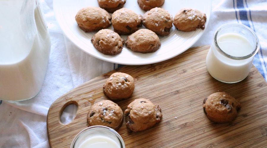 THE Best Salted Chocolate Chip Cookie Recipe
