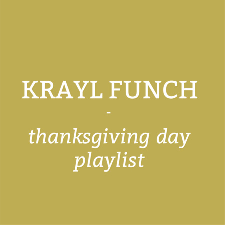 Thanksgiving Day Music Playlist