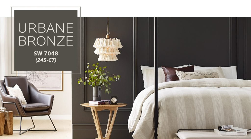 urbane bronze sherwin williams color of the year 2021